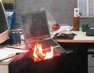 Некоторые причины отключения ноутбука