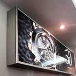 Реклама с помощью световых коробов